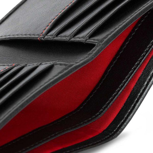 Handmade Bifold Wallet in Black | Watson & Wolfe