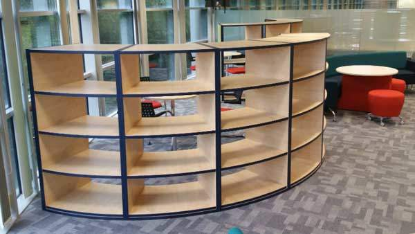 Recovery bookcase by Rype Office