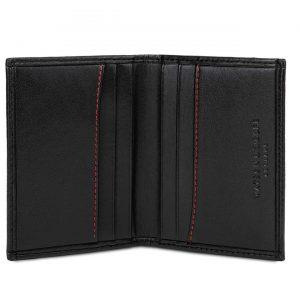 Handmade Bifold Card Case in Black | Watson & Wolfe
