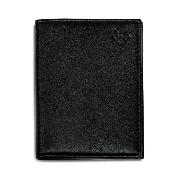 Black Card Holder Gift Set   Watson & Wolfe