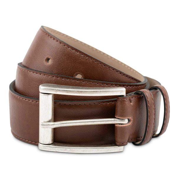 Astor Vegan Leather Belt | Watson & Wolfe