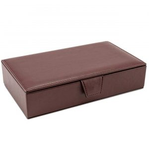 Handmade Cufflink Box | Watson & Wolfe