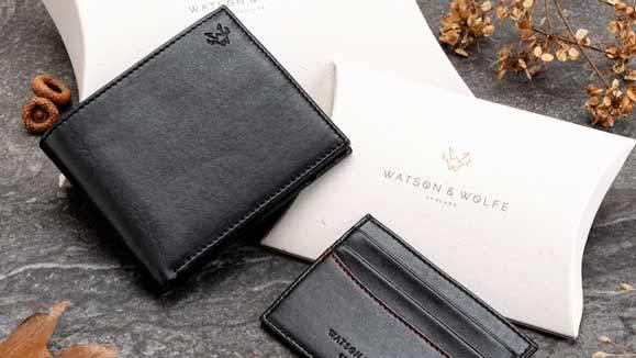 Eco Vegan Leather Wallets | Watson & Wolfe