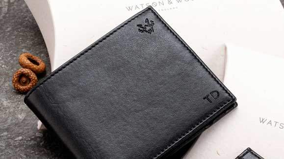 Why A Personalised Wallet is a Great Gift for a Man | Watson & Wolfe