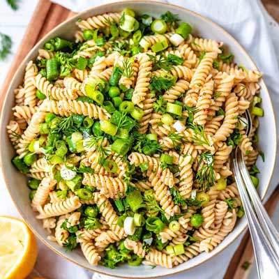 Food Friday, Vegan Pasta Salad Recipe | Watson & Wolfe