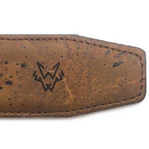 Brown Vegan Belt | Watson & Wolfe