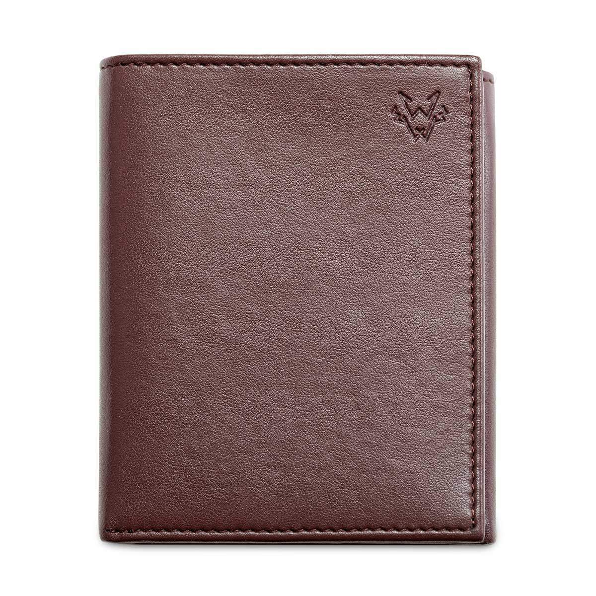 Three Fold Wallet in Brown | Watson & Wolfe