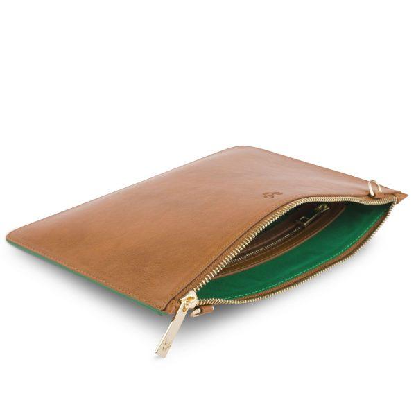 Luxury Vegan Pouch Bag   Watson & Wolfe