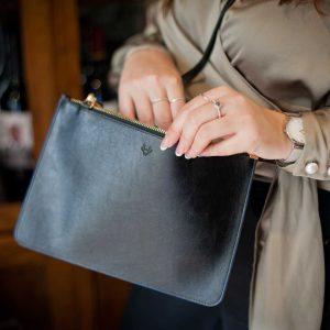 Minimalist Clutch Bag | Watson & Wolfe
