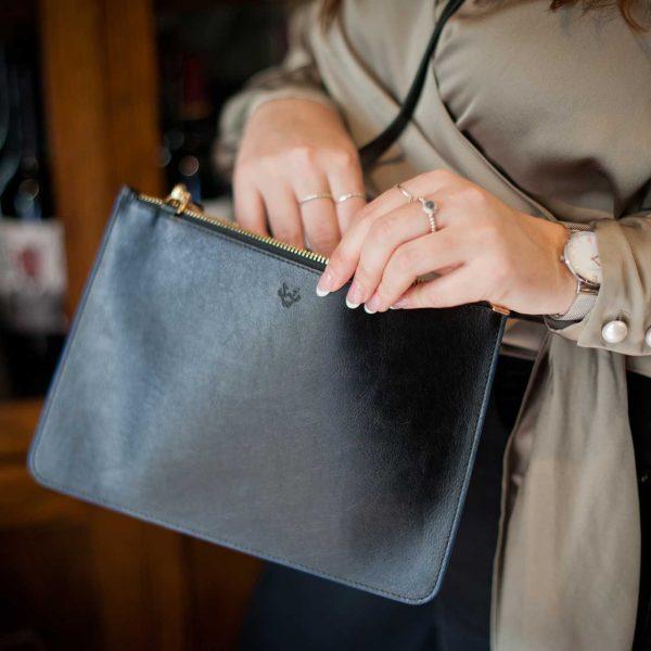 Minimalist Clutch Bag   Watson & Wolfe