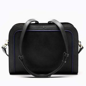 Wilton Crossbody Bag in Black | Watson & Wolfe