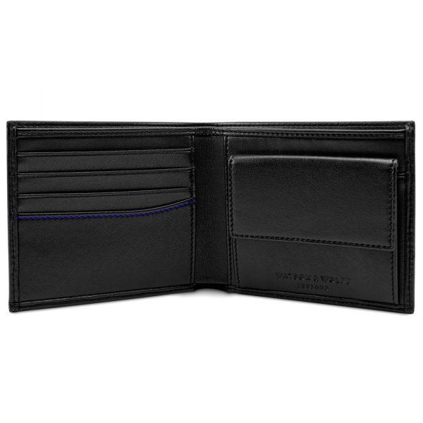 Black Coin Wallet for Men | Watson & Wolfe