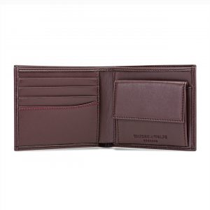 Brown Coin Wallet for Men   Watson & Wolfe