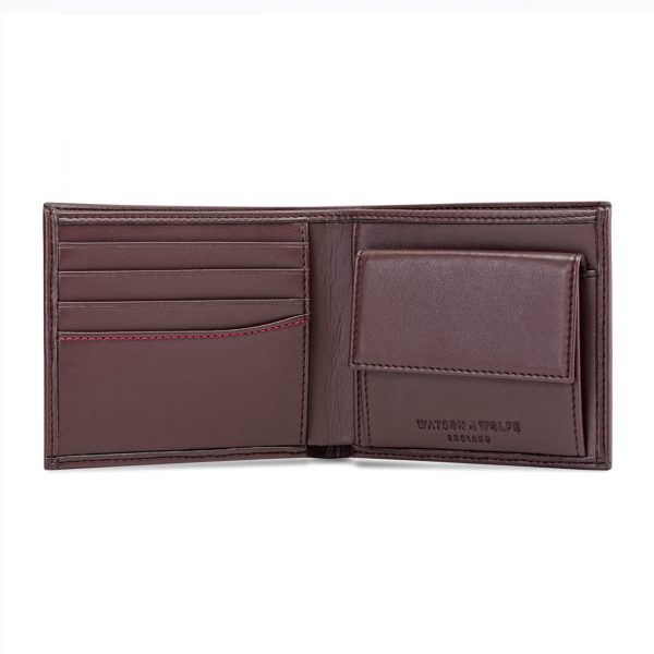 Brown Coin Wallet for Men | Watson & Wolfe