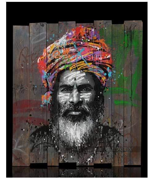 Dwarka Sur Bois, Art by SEATY | Watson & Wolfe