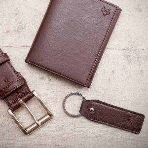 Vegan Leather Keyring | Watson & Wolfe
