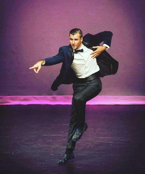 Professional Dancer Jai Sheffield | Watson & Wolfe