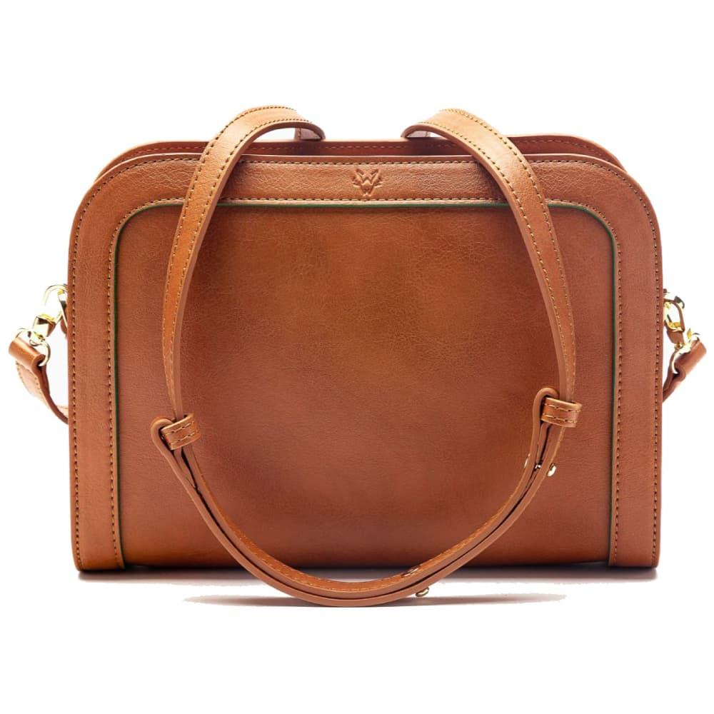 Wilton Crossbody Bag in Cognac