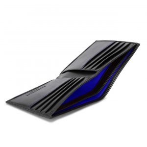 Vegan Leather Wallet in Black | Watson & Wolfe