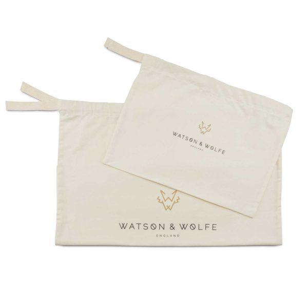 Organic Cotton Dust Bags   Watson & Wolfe