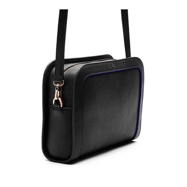 Women's Luxury Vegan Bag in Black   Watson & Wolfe